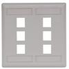 Datacommunication Face Plate -- IFP26OW - Image