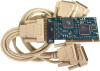 Low Profile PCI 4-Port RS-232 Serial Interface -- 7406
