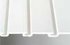 Slat Wall,H 12,W 48,White,PK 6 -- 5AZA7
