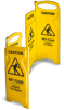Folding Wet Floor Sign -- 8011 - Image