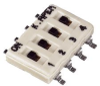 APEM - IKN0403000 - SWITCH, DIP, 4 POS, RECESSED SLIDE -- 623338 - Image