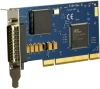 Low Profile PCI 1-Port RS-232, RS-422, RS-485, RS-530, RS-530A, V.35 Synchronous Serial Interface (uses Z16C32) -- 5104