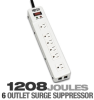 Tripplite Protect It! 15ft 6 outlet Surge Supressor -- TLM626TEL15