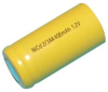DANTONA INDUSTRIES - 1/2AA-400 - NiCAD Rechargeable Battery -- 856174 - Image
