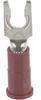 (Fork) Terminal;Flat Tongue Portion;22-18 AWG;600 V(Max.)BuildingWire;6;100/Bott -- 70113319 - Image