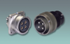 Cylindrical, Metal, Threaded Coupling, Benign Environment, Power Connector -- Amphe-Power® GT (w/ Tuv)