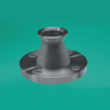 Flange-to-Flange Hybrid Adaptor -- ISO-QF to ASA/ANSI, Conical