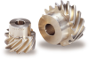 Aluminum Bronze Screw Gear -- KAN - Image