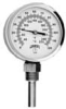 TBT Series HVAC Bi-Metal Thermometer -- TBT165