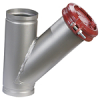 Stainless Steel, Flanged and Grooved, Wye-Pattern Strainers -- Series 8000F, 8000G - Image