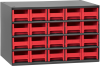 Cabinet, Steel Cabinet w/ 20 Drawers, Red -- 19320RED -Image