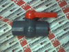 BALL VALVE THREAD 4INCH PVC COMPACT -- CPXF01400GT
