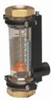 Cole-Parmer Inline Air/Water/N2 Flowmeter, 10 GPM, 1