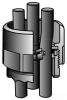 Cable in Rigid/EMT Conduit Sealing Bushing -- FR-100 - Image