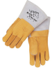 Premium Grain Elkskin Stick Welding Gloves with Reinforcements -- REV-950-B