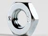 Jam Nut Steel 4 Zinc DIN439B, M18X2.5 -- M50125