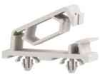 Flat Cable Clamp - Snap In, Hinged, Tension -- TFCCA-25-01