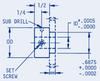 Gear Hubs Pin Hub -- BMS-A1-3