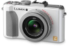 Panasonic Lumix DMC-LX5 White 10.1mp 3.8x (24-90mm) Optical Zoom 3in LCD Digital Camera w/ 720p HD Video -- DMC-LX5W