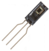 HIH-4000 Series integrated circuit humidity sensor, 2,54 mm [0.100 in] lead pitch SIP, calibration and data printout -- HIH-4000-003 -Image
