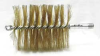 Tube Brush,Dia 3 3/4,1/4 MNPT,Length 8 -- 3EDK1