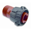 Full Plastic Direct, In-line And Bulkhead Connectors -- APD 1-Way High Power