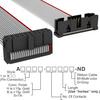 Rectangular Cable Assemblies -- A3DKB-2006G-ND -Image