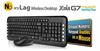 Evercool 2.4GHz Wireless Keyboard & Mouse Combo -- 70077
