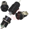 connector,plastic circular,composite plug,reverse bayonet,rj45 ethernet,black -- 70026546