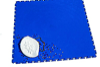 Dance® Satin Finish Interlocking Tile, Blue, Green or Red -- DM-1876 - Image