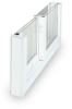 Vinyl Horizontal Slider Windows -- BMDS3 - CertainTeed BrynMawr III