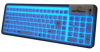 Backlit Flexible Silicone Keyboard - Spanish/Espanol - (USB) -- SSFSV106ES - Image
