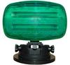 Flashing LED Strobe Light with Adjustable Locking Magnetic Base -GREEN LENS - SL-ALM-G -- SL-ALM-G