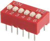 DIP Switches -- 732-3836-5-ND -Image