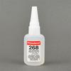 Permabond 268 General Purpose Cyanoacrylate Adhesive Clear 1 oz Bottle -- 268 1OZ BOTTLE
