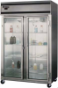 Pass-Thru Glass Door Refrigerator -- S2R-SA-GD-PT
