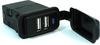 11019 Dual USB Power Charger, 2 Port 2.4A / 2.4A, 5V, Black -- 11019 - Image