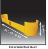 End Of Aisle Rack Guard -- HRG-48DC-1/4
