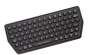 Compact Backlit Industrial Keyboard USB -- SLK-77-M-USB