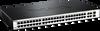52-Port Fast Ethernet WebSmart Switch, including 2 Gigabit BASE-T and 2 Gigabit Combo BASE-T/SFP -- DES-1210-52