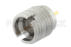 SMP Male Full Detent Connector Solder Attachment Thread-In Mount Pin Terminal, .065 inch Pin Length -- PE44912 -Image