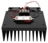 Medium Power Amplifier with Heatsink at 1 Watt P1dB Operating from 6 GHz to 12 GHz with SMA -- FMAM4060F -Image
