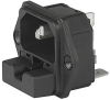 IEC Appliance Inlet C14 with Fuseholder 2-pole -- 6220