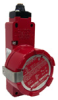 GSX Series, Explosion-Proof Safety Switch, 0.5 in NPT housing, 3NC/1NO pin plunger -- GSXA46B