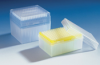 Air Displacement & Repeating Pipette Tips  Tip Box SL, 2-200uL, Yellow, 96/pk -- 1683102 - Image