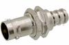 75 Ohm BNC Female Bulkhead Mount Connector Crimp/Solder Attachment for PE-B159, 1855A, Mini 59, .480 inch D Hole -- PE44587 -Image