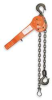 Lever Chain Hoist,3/4T,5Ft,Rated 45Lb -- 4ZX66