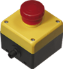 AS-Interface EMERGENCY STOP button -- VAA-2E-F85A-S-V1 - Image