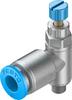 One-way flow control valve -- GRLA-M5-QS-6-RS-D -Image