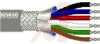 Cable; 6 cond; 22 AWG; Strand (7X30); Foil+braid shielded; Chrome jkt; 1000 ft. -- 70005327 -- View Larger Image